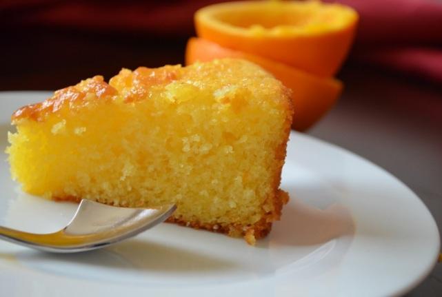 كيك البرتقال حلى لذيذ ومميز