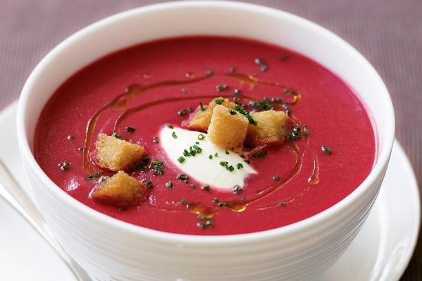 حساء الشمندر