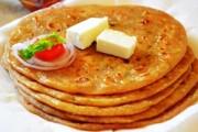 طريقة عمل خبز البراتا الهندي على اصوله
