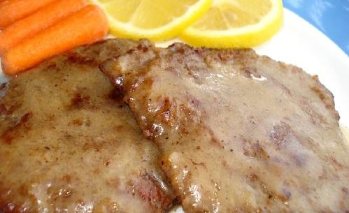 اسكالوب اللحم
