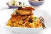 طريقة عمل الرز البخاري بالدجاج أو اللحم