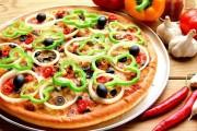 طريقة عمل بيتزا الخضار المشكلة بالتفصيل
