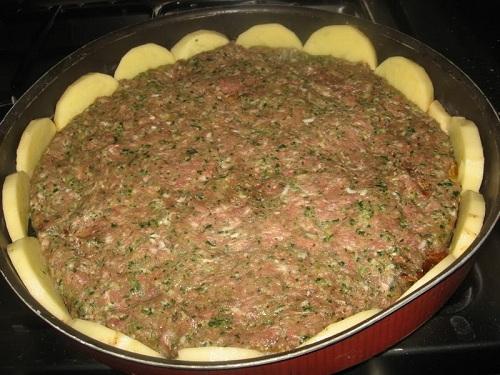 طريقة عمل لحمة بالصينية او لحمة بالصحن