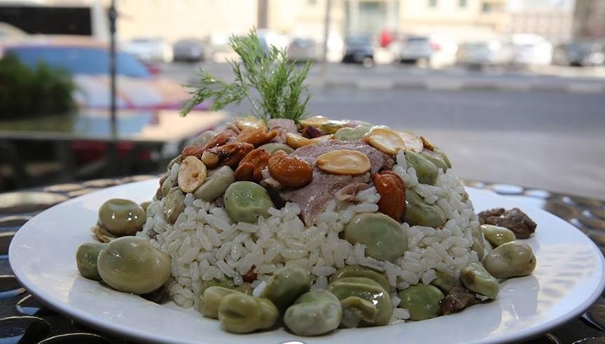 طريقة عمل الأرز بالفول السوري