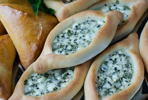 طريقة عمل فطائر الجبنة الشامية