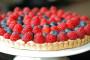 طريقة عمل تارت الفواكه الحمراء