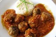 طريقة عمل كرات اللحم الايطالية مع الرز