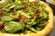 طريقة عمل بيتزا السبانخ