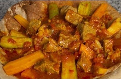 ثريد اللحم الاماراتي او فريد اللحم