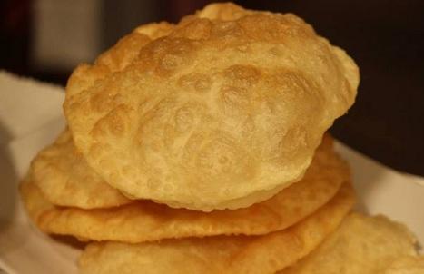 طريقة عمل خبز البوري الهندي الاصلي