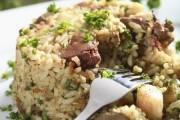 طريقة عمل أرز بالكبدة والخضروات