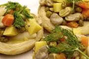 طريقة عمل الارضي شوكي بالخضراوات