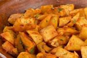 طريقة عمل البطاطا الحارة مع الكزبرة