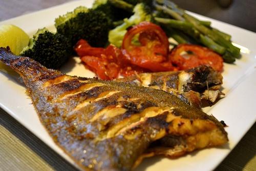 السمك على الطريقة التركية