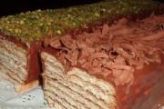 طريقة عمل حلى طبقات الشوكولاتة