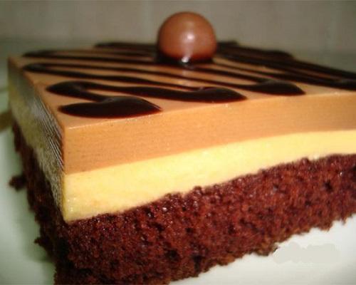 حلوى طبقات بيتي كروكر