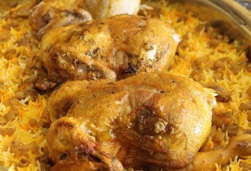 طريقة عمل مجبوس الدجاج