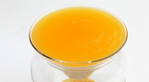 البالوظة بالبرتقال