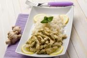 طريقة عمل الدجاج بالزنجبيل والرز