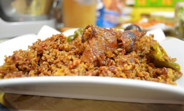 طريقة عمل الرز الحساوي بالدجاج