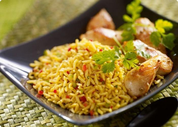 الرز بالزعفران