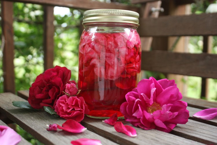 شراب الورد الجوري الشامي الاصلي