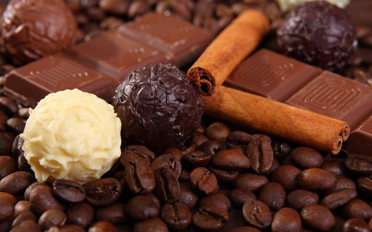 كرات قهوة الشوكولا