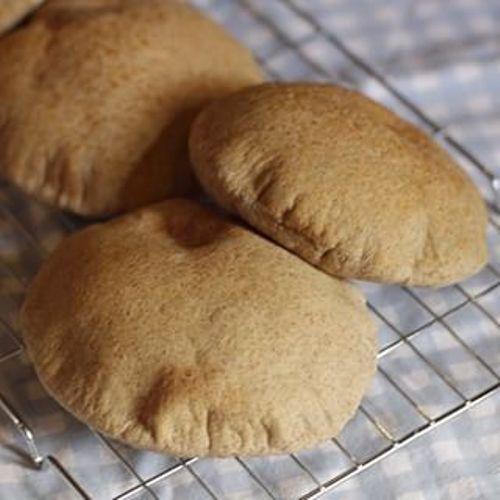 طريقة عمل الخبز السوري الاسمر طريقة