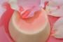 طريقة عمل بودينغ الحليب بشراب الورد