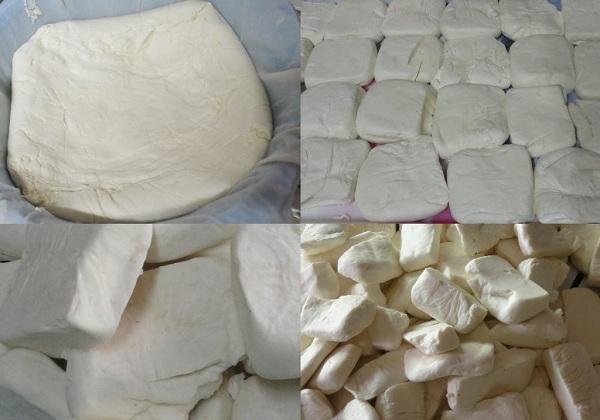 صناعة الجبنة في المنزل