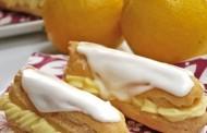 طريقة عمل الاكلير بكريمة الليمون