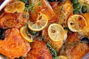 طريقة عمل طاجن الدجاج بالزيتون
