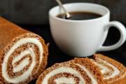 طريقة عمل سويسرول بالقهوة