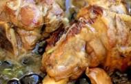 طريقة عمل طاجن اللحم بالزيتون