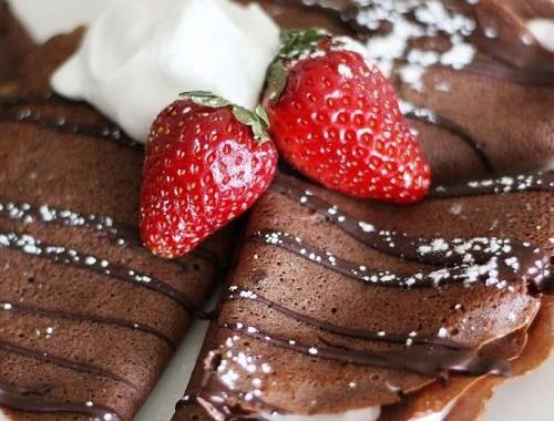 طريقة عمل كريب الشوكولا