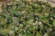 طريقة عمل مقلى الفول الأخضر