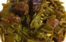 طريقة عمل لوبيا خضراء باللحم