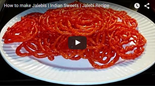 بالفيديو:طريقة عمل الزلابية الهندية الاصلية