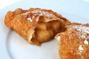 طريقة عمل فطائر التفاح المقلية