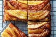 طريقة عمل كيك الموز بالكراميل