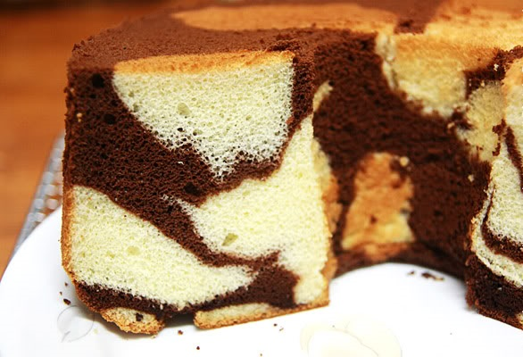 الكيكة الاسفنجية