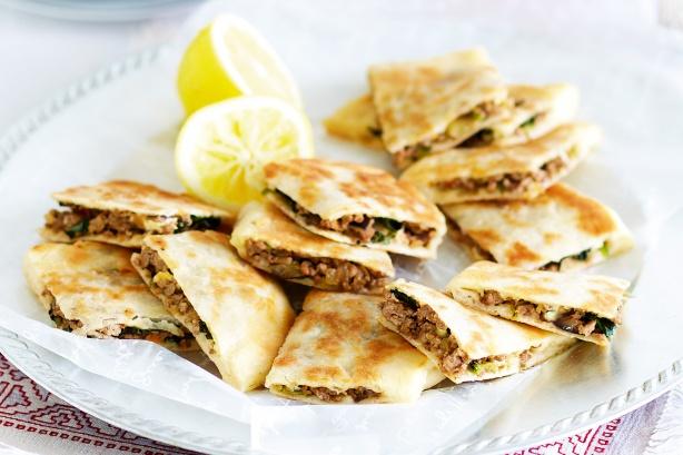 خبز الصاج التركي