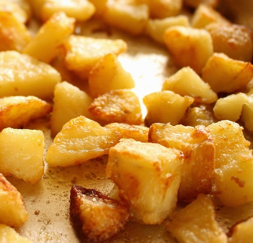 طريقة عمل مفركة البطاطا بجبنة الشيدر