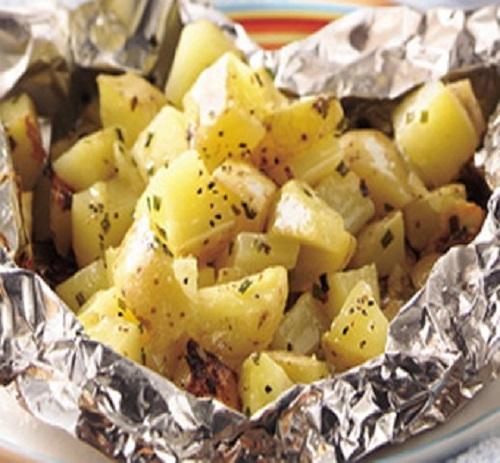 طريقة عمل مفركة البطاطا بالفرن