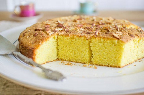Apple Tahini Cake Recipe