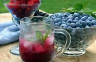 طريقة عمل عصير التوت الشامي