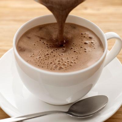 مشروب الشوكولاته الساخنة