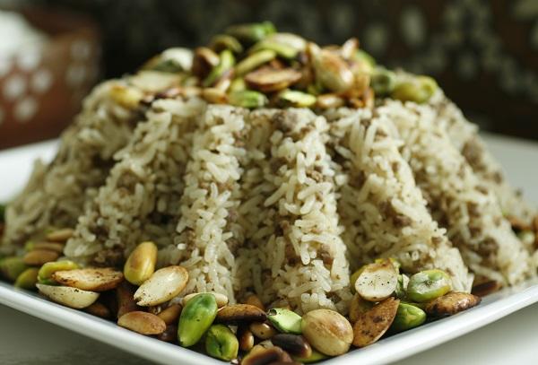 ارز باللحمة المفرومة