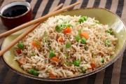 طريقة عمل الأرز المقلي