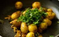 طريقة عمل البطاطس بالكزبرة والجزر